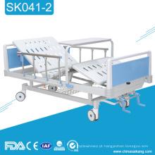 Cama de hospital manual do ABS da função SK041-2 três com Commode