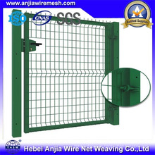 Powder Coated Chain Link Wire Mesh Zaun Tor mit CE