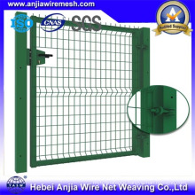 Powder Coated Chain Link Wire Mesh Fence Gate with CE