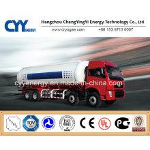 China 2015 Tanker LNG Auflieger mit ASME GB