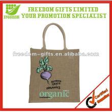 Champtre Durable Eco Freundliche 100% Jute Tasche