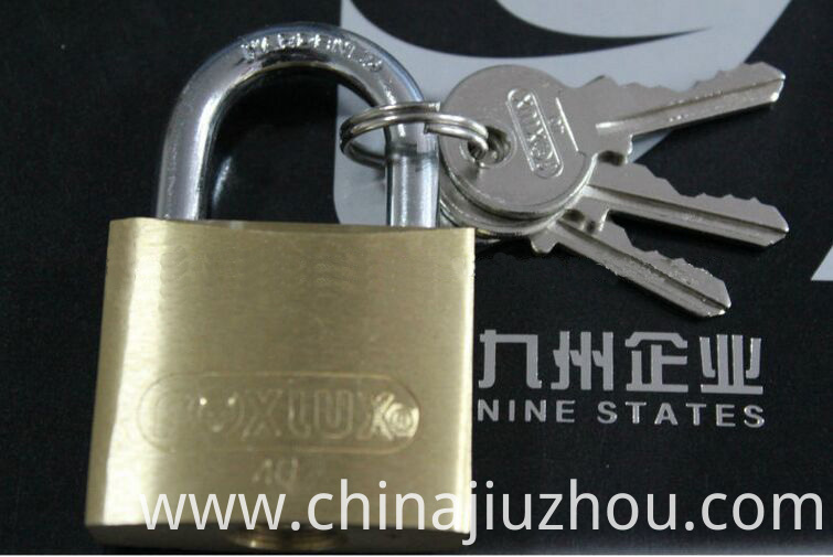 40mm Heavy Duty Thick Type Brass Padlock