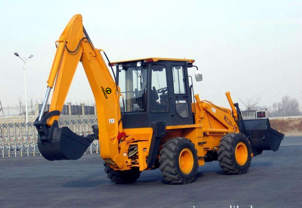 Backhoe Loader Function