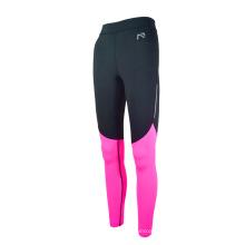 Desgaste da aptidão das calças justas da compressão do desgaste running das mulheres que veste