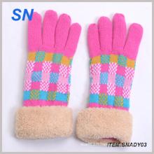 Vente en gros de gants d'hiver tricot à la mode Fournisseur chinois