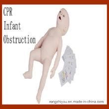 Manequim avançado de treino de manequins de obstrução infantil