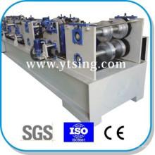 Прошел CE и ISO YTSING-YD-6647 Автоматический контроль C / Z Purlin Быстрая сменная машина