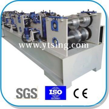Прошел CE и ISO YTSING-YD-6670 Автоматическое управление CZ Purlin Interchange Профилегибочная машина