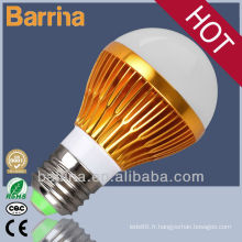 CE RoHs certificat or SMD led ampoule lampe
