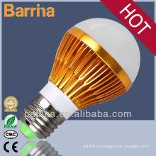 Золотой сертификат CE RoHs SMD Светодиодные лампы лампа