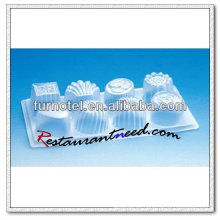 V199 Silicone Plastic 8 Cups Crystal Jelly Mold