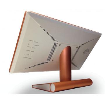 Rede sem fio Wi-Fi de rede de 22 polegadas Menu LCD Exibição do anúncio do pop para o restaurante