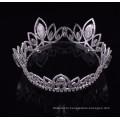 Высокий Qulity Zhanggong кристалл фантазии аксессуары для волос мальчиков полный круглый короны
