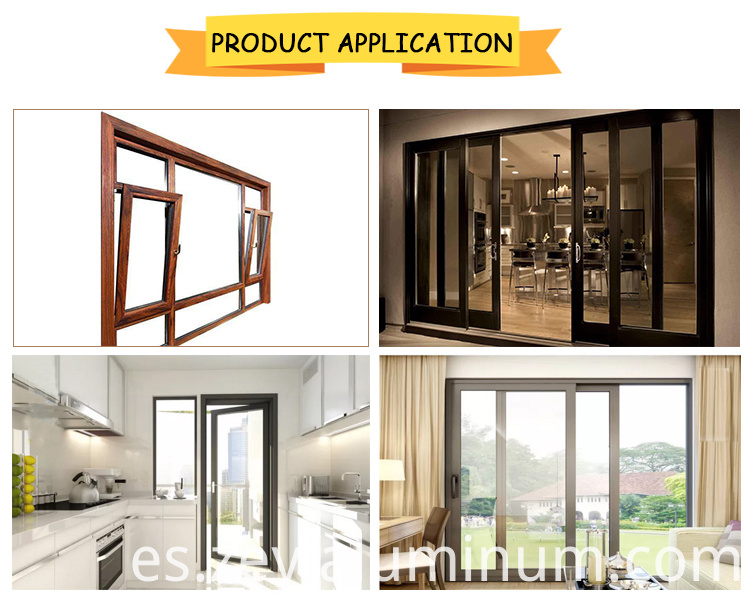 Swing Door And Window Product Display