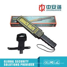 Equipamentos portáteis de segurança hospitalar Detectores de metais portáteis com alarme leve / vibratório