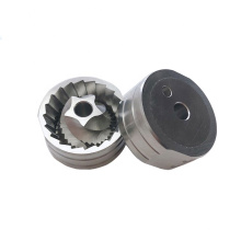 Coffee machine accessories high quality 40 teeth edge and 5 tooth spiral edge Coffee grinder parts