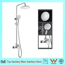 Multi-Function High Quality Rain Shower Brass Chrome Shower Set