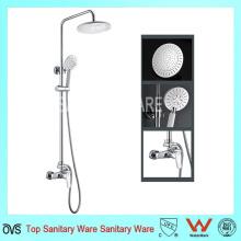 Multi-función de lluvia de alta calidad ducha de latón cromado conjunto de ducha