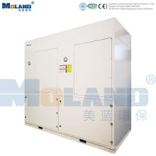 Промышленный пылесборник с системой управления ПЛК