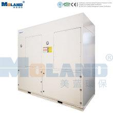 Colector de polvo industrial con sistema de control PLC