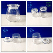 500ml and 750ml Borosilicate Chocolate Jars with Glass Lids