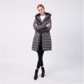 Winter Designer Long Hooded Warm Down Jacket Womens