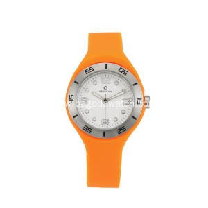 Women's watches with silicone strap
