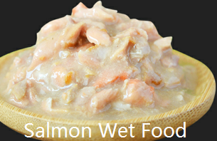 salmon wet food