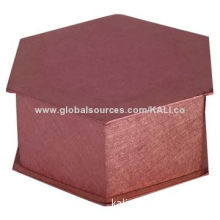 Luxury Paper Gift Box for Wedding, Hexagonal Structure, Magnetic ClosureNew