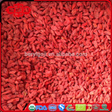 O baixo consumo de pesticidas goji pode ser usado como lanche