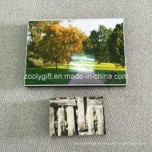 Bloco de quadro de foto com filme adesivo para colar foto moldura de parede pendurado quadros