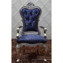 Cadeira de jantar estilo barroco com braços / cadeira barroca antiga