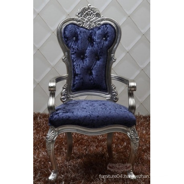 Baroque style dinning chair with arm/ antique baroque chair
