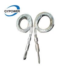 Meias de malha para puxar cabos elétricos