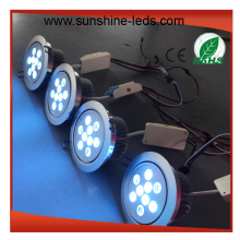 White Shell 27 RGBW LED Downlight / Plafonnier