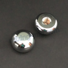 CNC Turning Metal Head Pièces en aluminium avec polissage