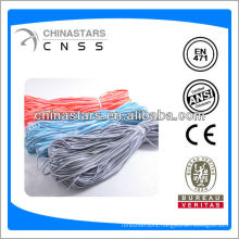 High vis colorful reflective piping