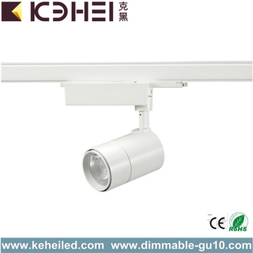 Dimmable 20W LED Track Lights White Black CE