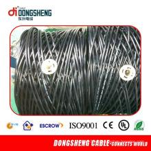 1000FT CT63 Twin Siamese Rg59 Коаксиальный кабель 2DC для CCTV