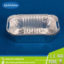 Einwegbehälter Aluminiumfolie für Lebensmittel