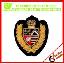 Emblemas bordados feitos sob encomenda baratos relativos à promoção