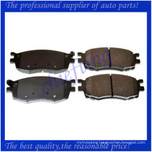 D1156 58101-1GE00 37520 for kia rio brake pad