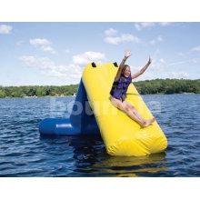 0.9mm Pvc Tarpaulin Kids Inflatable Water Slide Ws01 Used In Lake