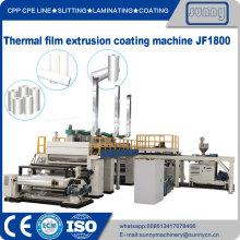 machine de revêtement par extrusion de film thermique modèle JF1800
