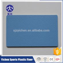 Piso plástico sintético del pvc del suelo sintético de 4.5mm para la corte del balonmano