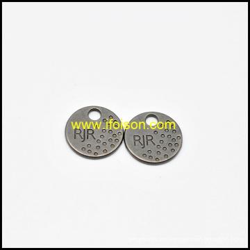 Botón de la clásica etiqueta del Metal para la ropa