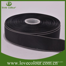 "Cheap Wholesale polyester black 1"" grosgrain ribbon for sale"
