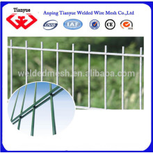 HDG y electro galvanizado o recubierto de PVC de alambre de doble valla