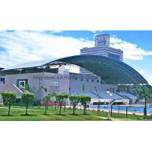 Low Cost Simple Design Steel Roof Truss and Steel Roof Sheet for Natatorium