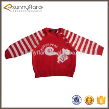 Suéteres de cachemir de lana para niños